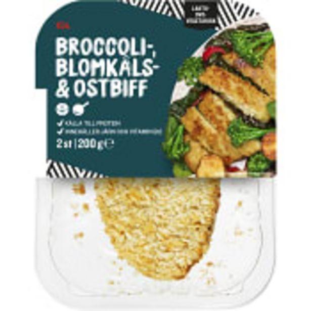 Blomkål & broccolibiffar med ost 200g ICA för 25,9 kr