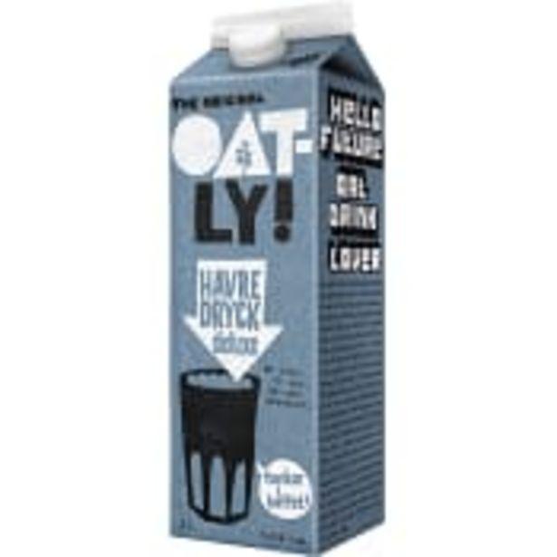 Havredryck Delux Mjölkfri 1l Oatly för 20,5 kr