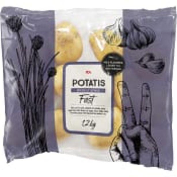 Fast potatis 1,2kg ICA för 16,9 kr