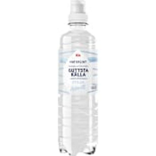 Vatten Stilla 50cl ICA för 7,5 kr