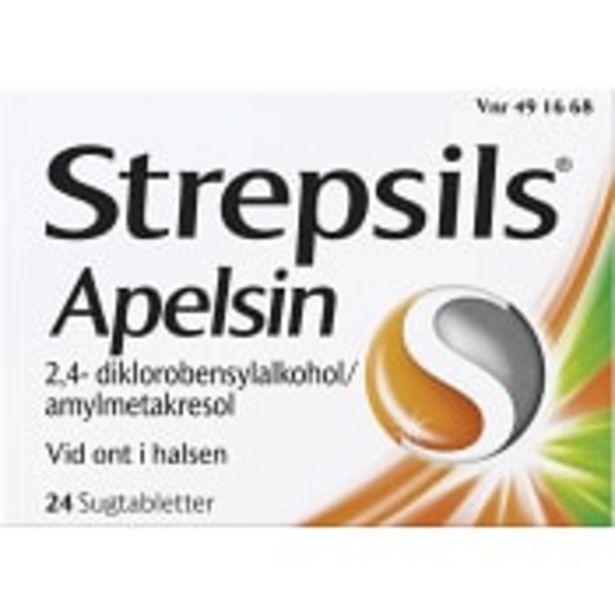 Halstablett Strepsils Apelsin 24-p för 67,9 kr