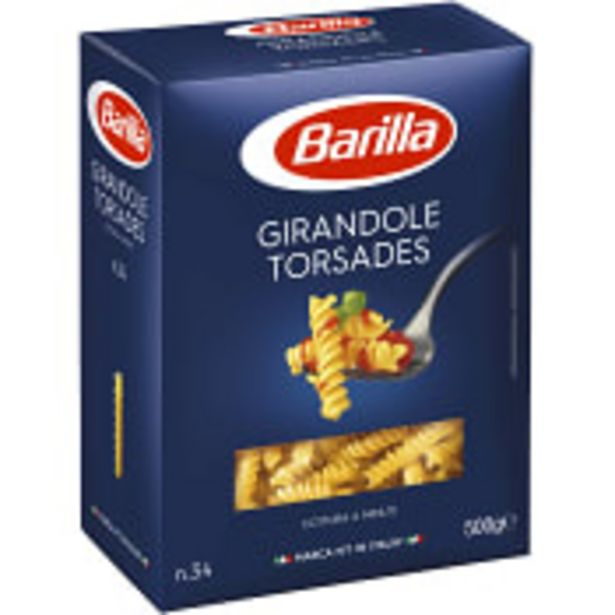 Pasta girandole  500g Barilla för 14,5 kr