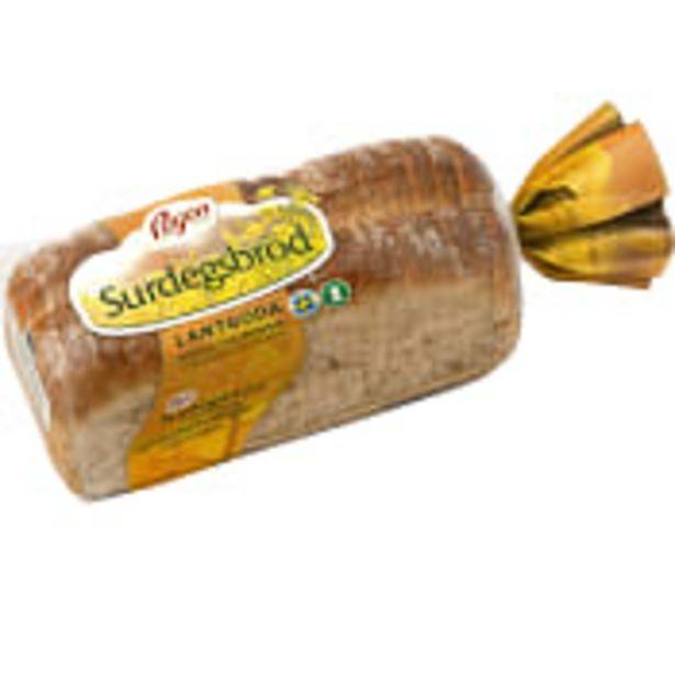 Bröd LantGoda Surdegsbröd 650g Pågen för 32,5 kr