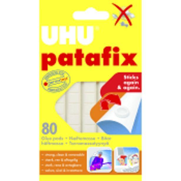 Häftmassa Patafix 80 bitar UHU för 31,9 kr