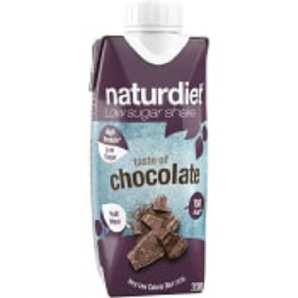 Shake Choklad Viktkontroll 330ml Naturdiet för 23,5 kr