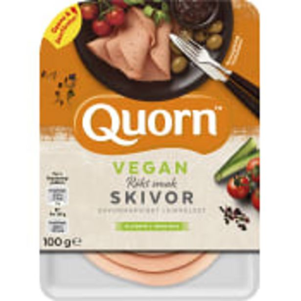 Pålägg Skivor Rökt Vegan Glutenfri 100g Quorn för 27,9 kr