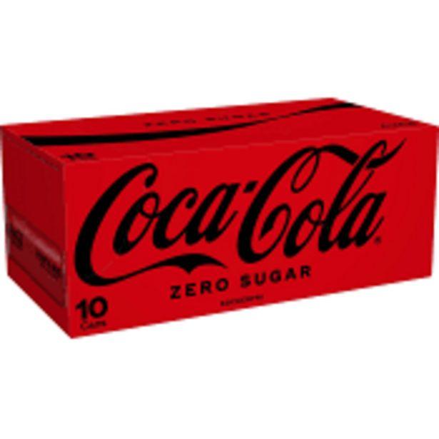Läsk Zero 33cl 10-p Coca-Cola för 61,9 kr
