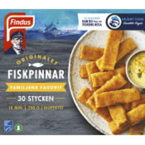 Fiskpinnar 750g Findus för 39,9 kr