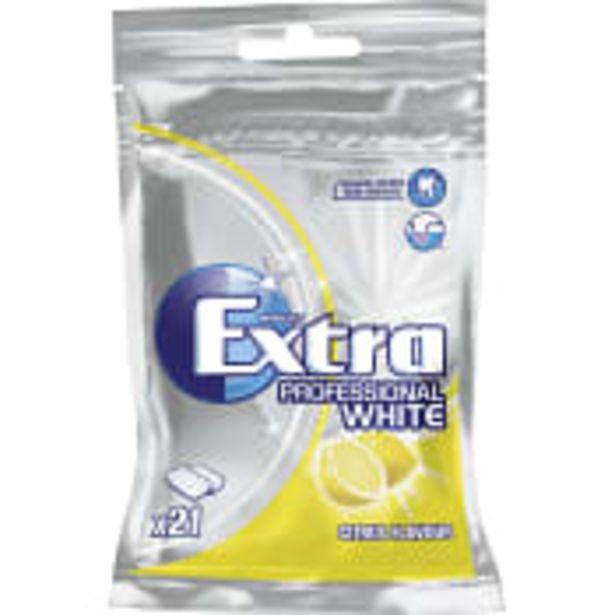 Tuggummi Extra Professional White Citrus 29g Extra för 15,9 kr