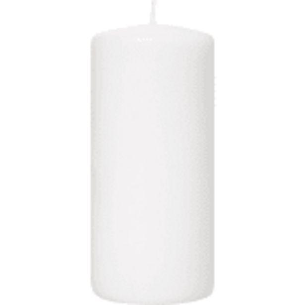 Blockljus Vit 7x15cm 1-p ICA för 26,9 kr