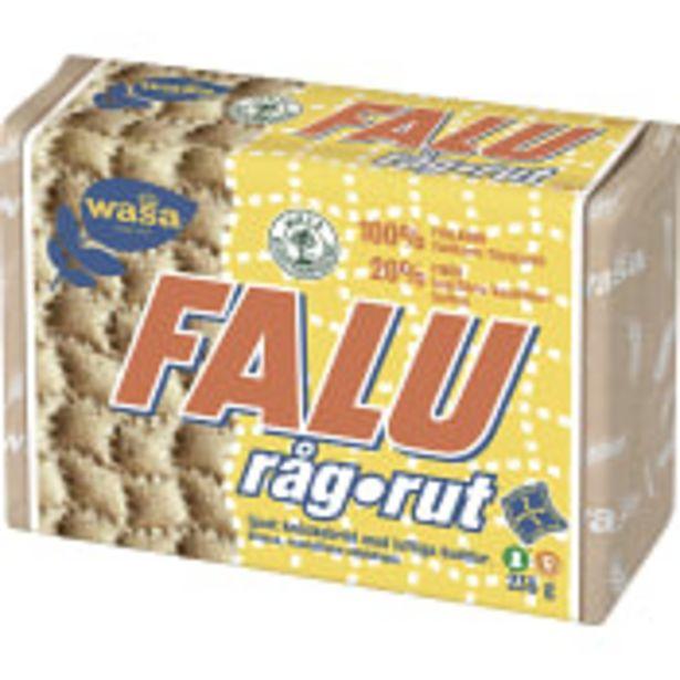 Knäckebröd Falu Råg-Rut 235g Wasa för 10,9 kr