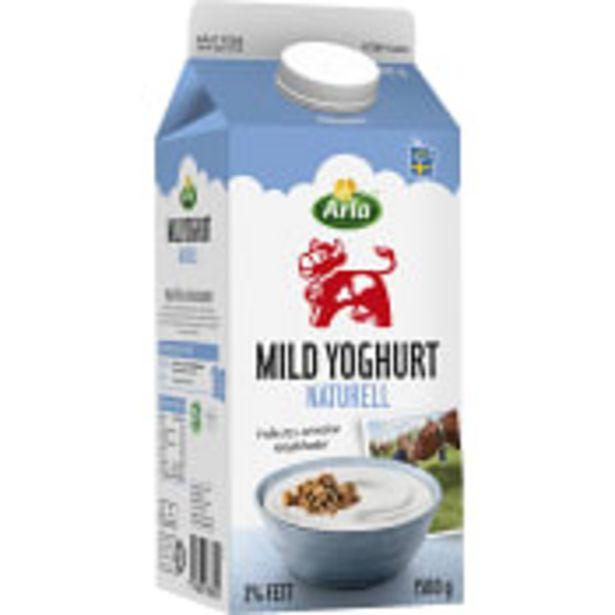 Yoghurt Mild Naturell 3% 1,5l Arla Ko för 22,3 kr