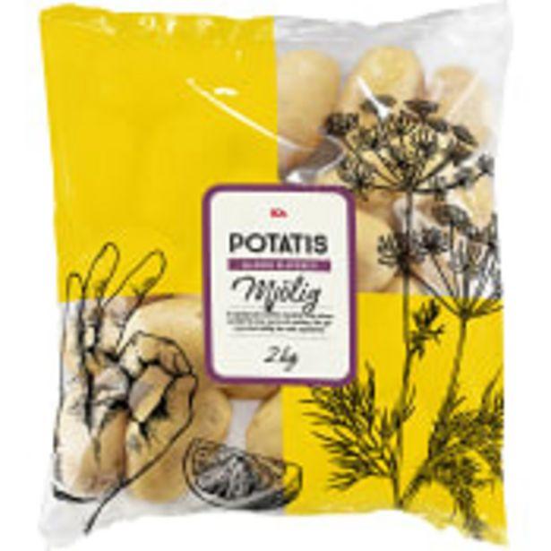 Mjölig tvättad potatis 2kg Klass 1 ICA för 26,9 kr