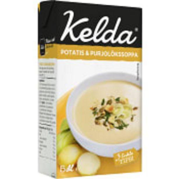 Soppa Potatis & purjolök 5dl Kelda för 21,9 kr