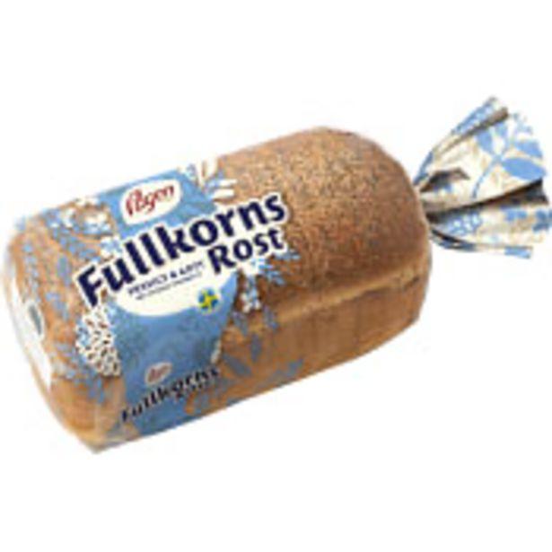 Bröd Fullkorns Rost 550g Pågen för 26,9 kr