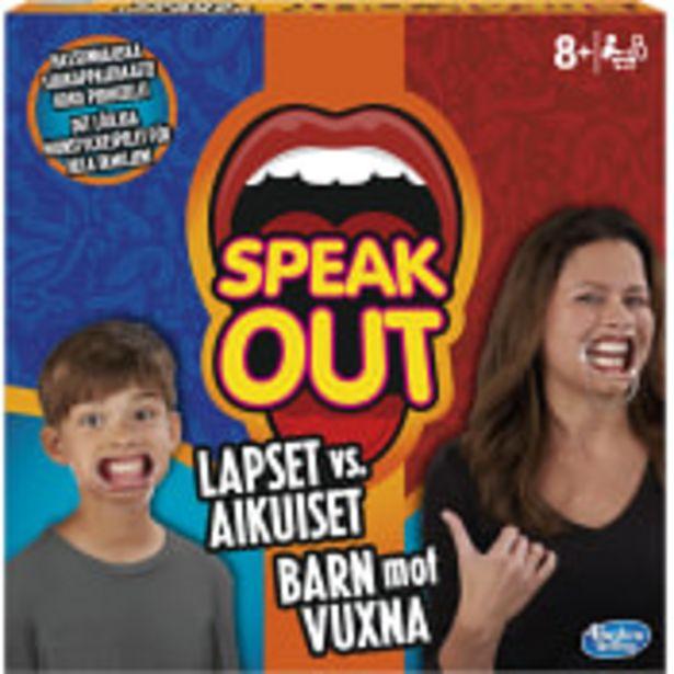 Spel Speak Out Family Hasbro för 329 kr