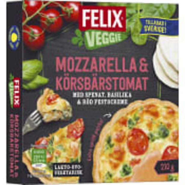 Paj Veggie Mozzarella Körsbärstomat 210g Felix för 28,9 kr