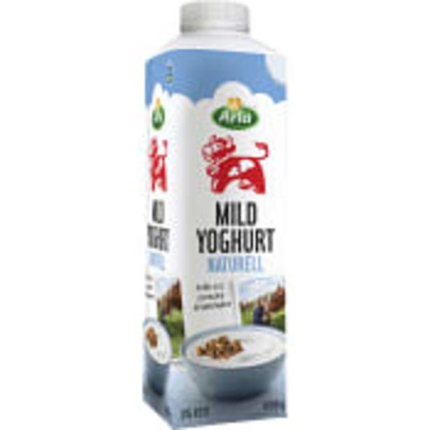 Mild yoghurt Naturell 3% 1000g Arla för 15,9 kr