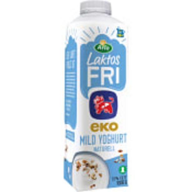 Yoghurt mild naturell Laktosfri 1,5% Ekologisk 1L Arla Ko för 22,5 kr