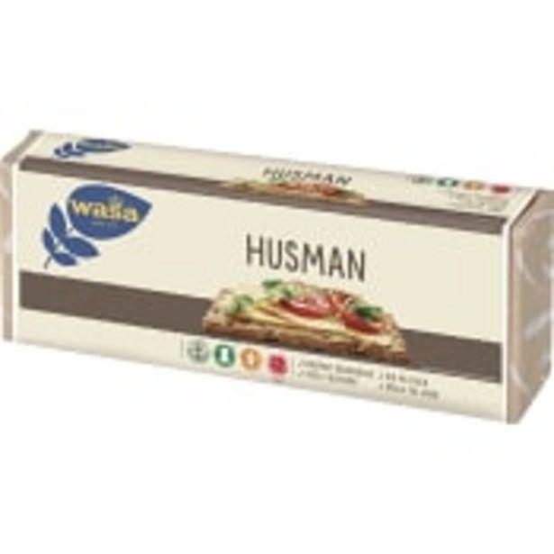 Knäckebröd Husman 520g Wasa för 13,5 kr
