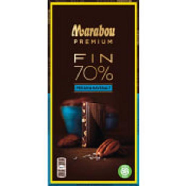 Chokladkaka Premium 70% kakao Sea salt pecan 100g Marabou för 22,9 kr