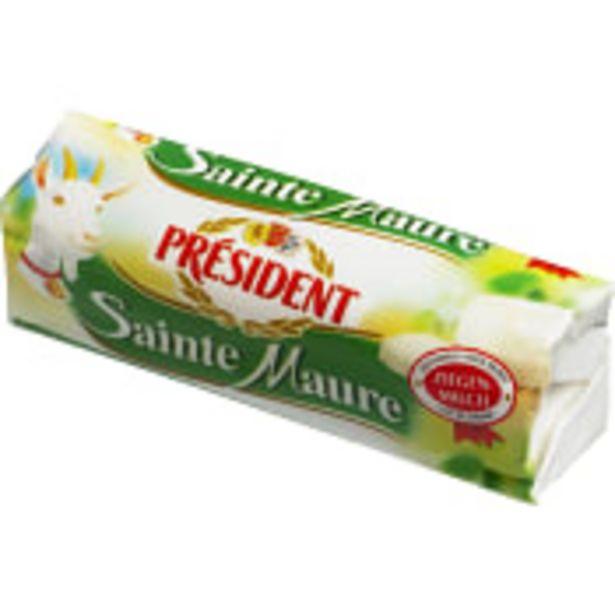 Sainte maure Getost 200g Président för 43,9 kr