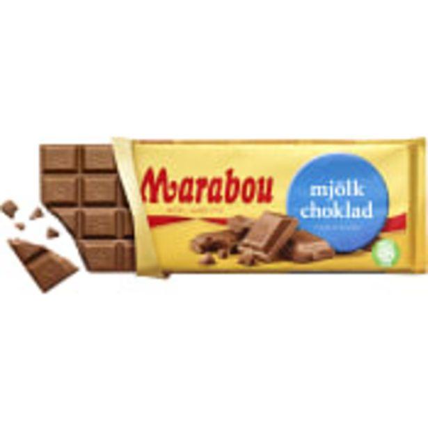 Mjölkchoklad 200g Marabou för 20,9 kr