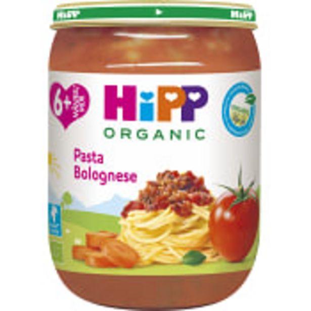 Pasta bolognese Från 6m Ekologisk 190g Hipp för 13,9 kr