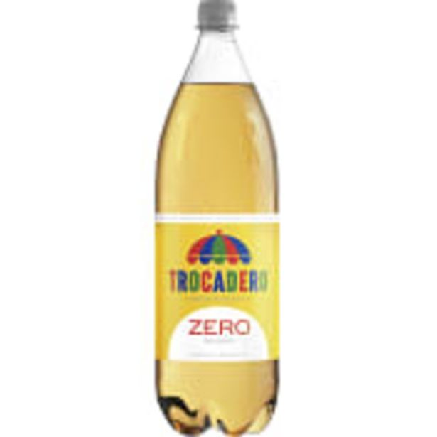 Läsk 1,5l Trocadero Zero för 15,5 kr