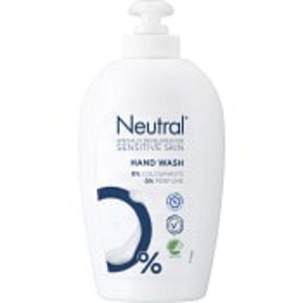 Neutral Flytande handtvål 250ml Miljömärkt Neutral för 24,9 kr