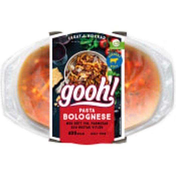 Pasta Bolognese 400g Gooh för 60,9 kr