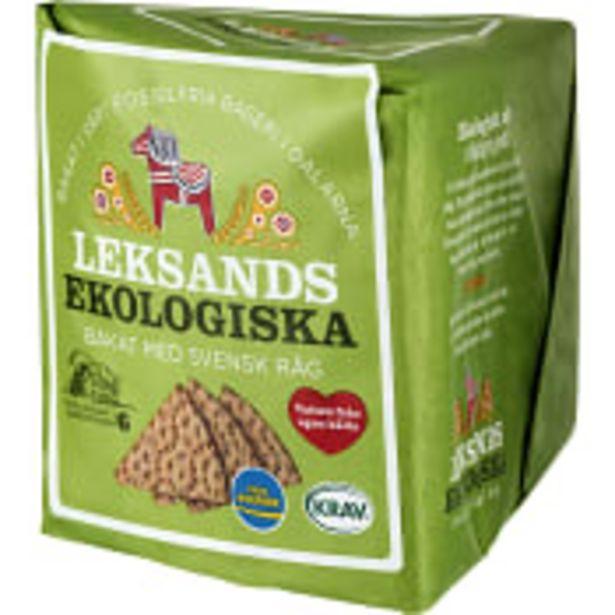Knäckebröd 180g KRAV Leksands Knäckebröd för 14,5 kr