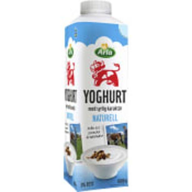 Yoghurt Naturell 3% 1000g  Arla för 15,9 kr