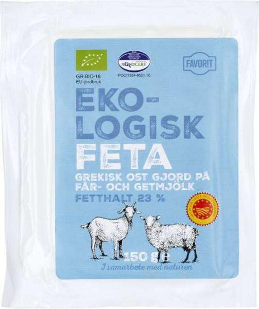 Fetaost EKO för 23,95 kr