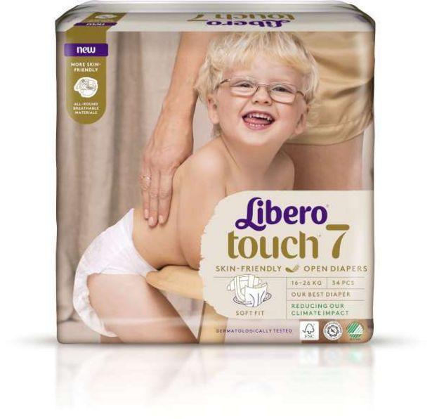 Blöjor Touch S7 16-26kg för 119 kr
