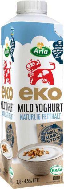 Mild Yoghurt Naturell 3,8-4,5% EKO för 15,5 kr