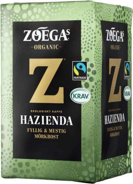 Kaffe Hazienda EKO KRAV för 55,95 kr