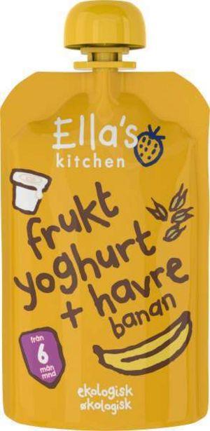Frukt Yoghurt Havre/Banan 6 Mån EKO för 12,95 kr