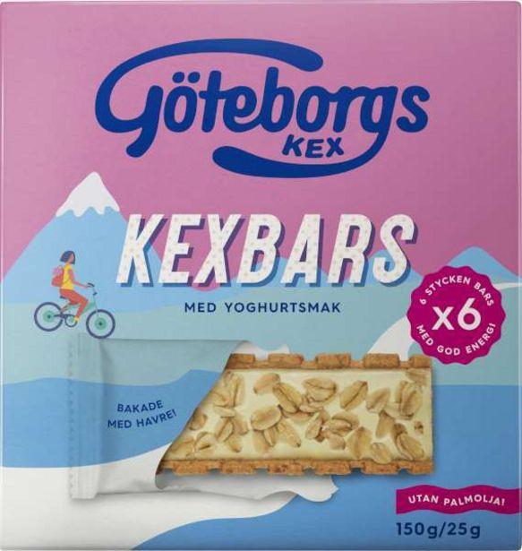 Kexbars Fyllda Kex Yoghurt/Havre 6-Pack för 27,95 kr