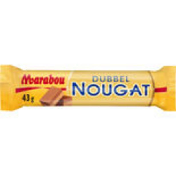 Dubbel Nougat Marabou 43g för 231 kr