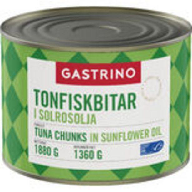 Tonfisk Olja Gastrino 1,88kg för 659,4 kr