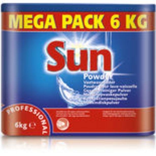Professional Maskindiskpulver Sun 6kg för 194,9 kr