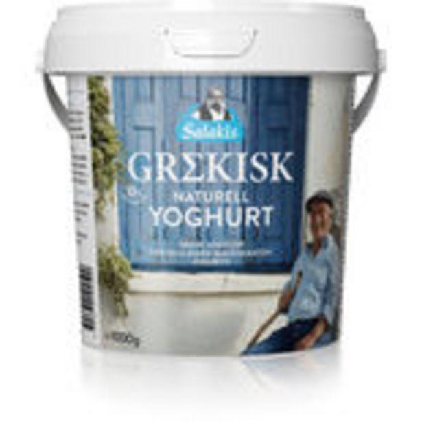 Grekisk Yoghurt Naturell 10% Salakis 1kg för 149,4 kr