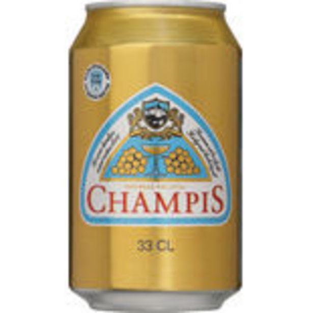 Champis Läsk Burk Spendrups 33cl för 78,96 kr
