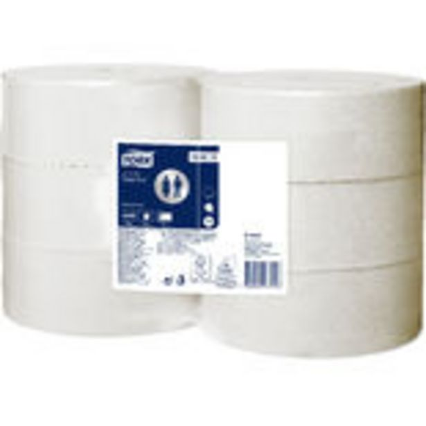 T1 Jumbo Vit Toalettpapper Tork för 263,4 kr