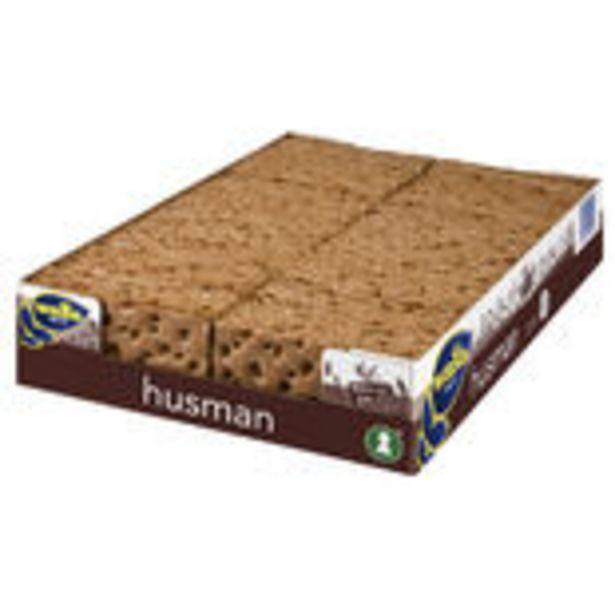 Knäckebröd Husman Wasa 1.1kg för 97,5 kr
