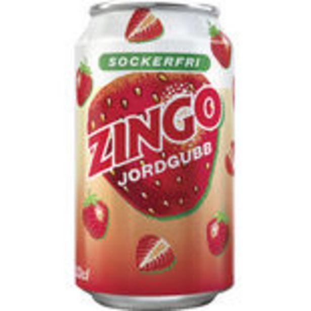 Zingo Jordgubb Sockerfri Zingo 33cl för 86,4 kr