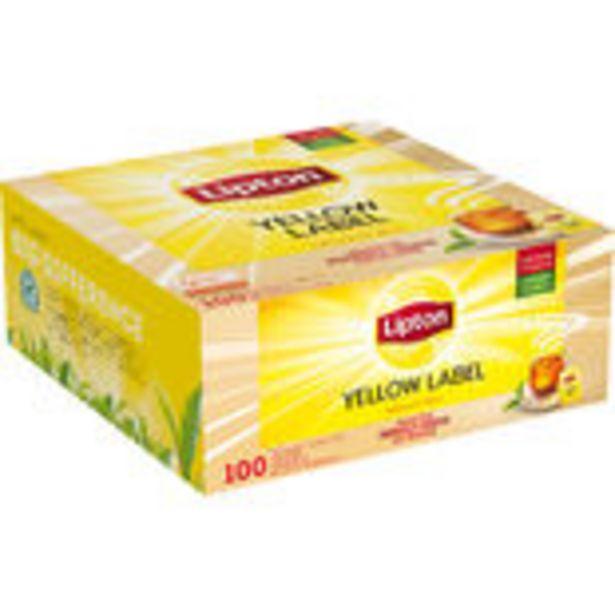 Yellow Label Lipton 100p för 478,8 kr