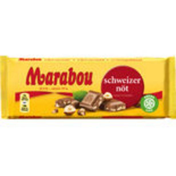 Schweizernöt Chokladkaka Marabou 100g för 231 kr
