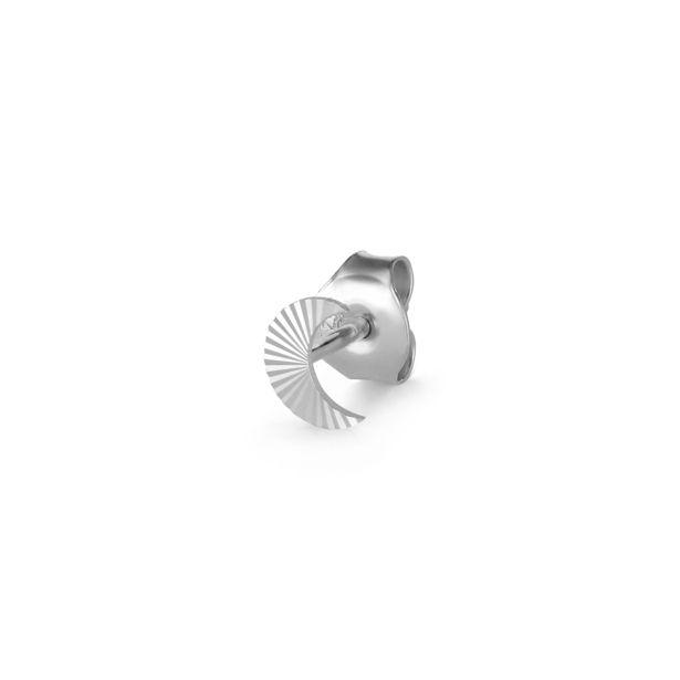 Örhänge halfmoon stud silver för 235 kr